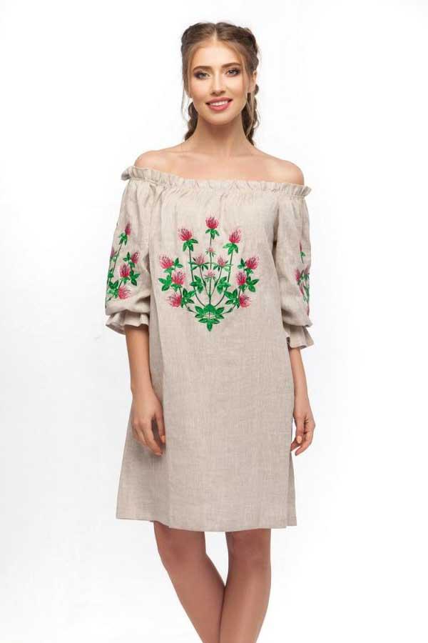 Платье Цветок Клевера